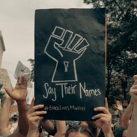 Black Lives Matter March on Campus
