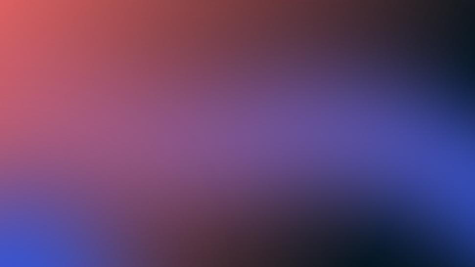 Gradiente vermelho azul