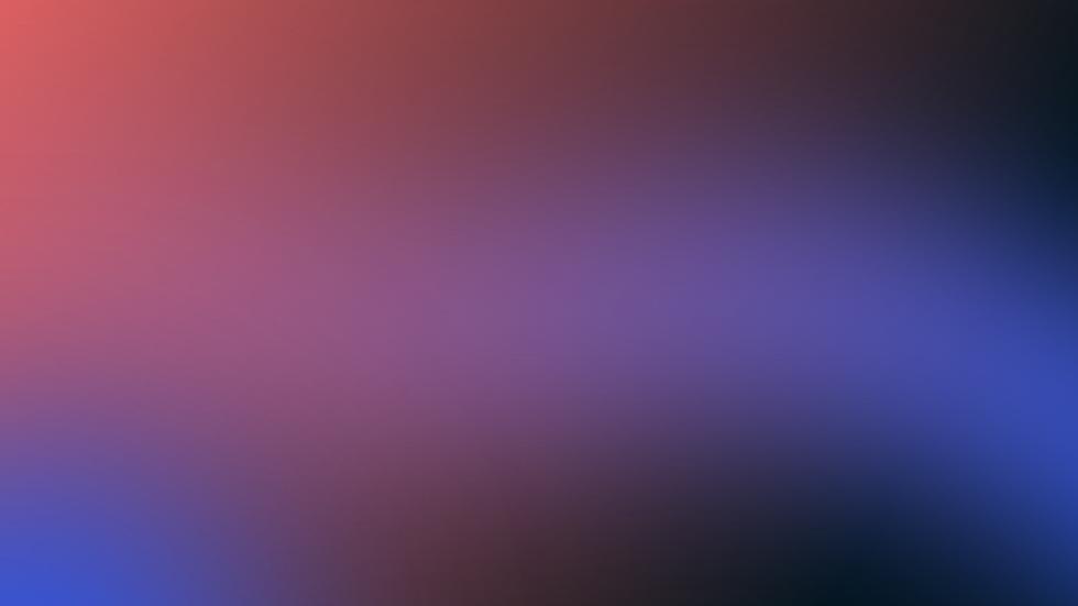 Blaue rote Steigung