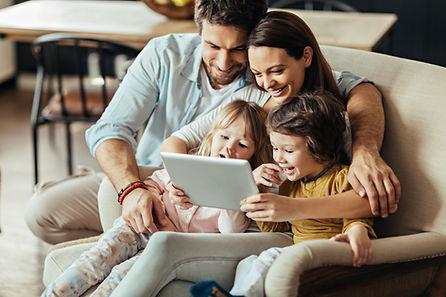 デジタルタブレットの家族