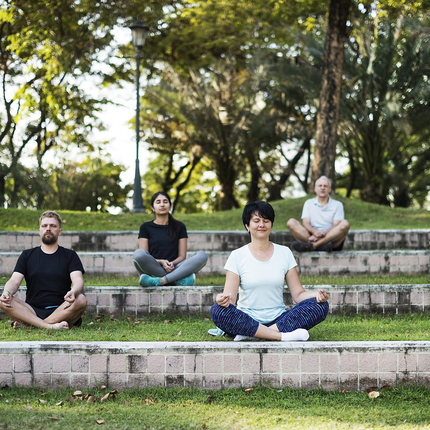 Outdoor Yoga at Crompton Collective
