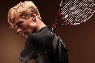 Portrait of Tennis Player