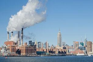 Fumée industrielle