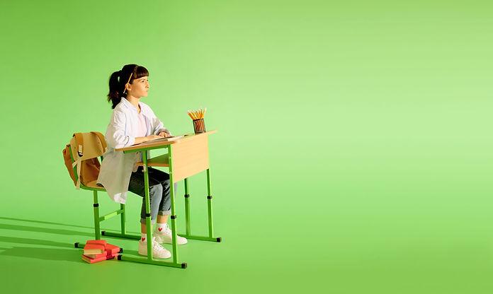 Klassenzimmer-Szene