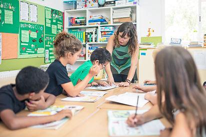 Classroom elementary school teaching