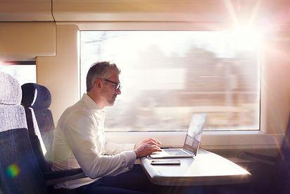 Working on Train