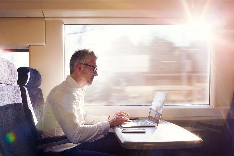 Werken aan de trein