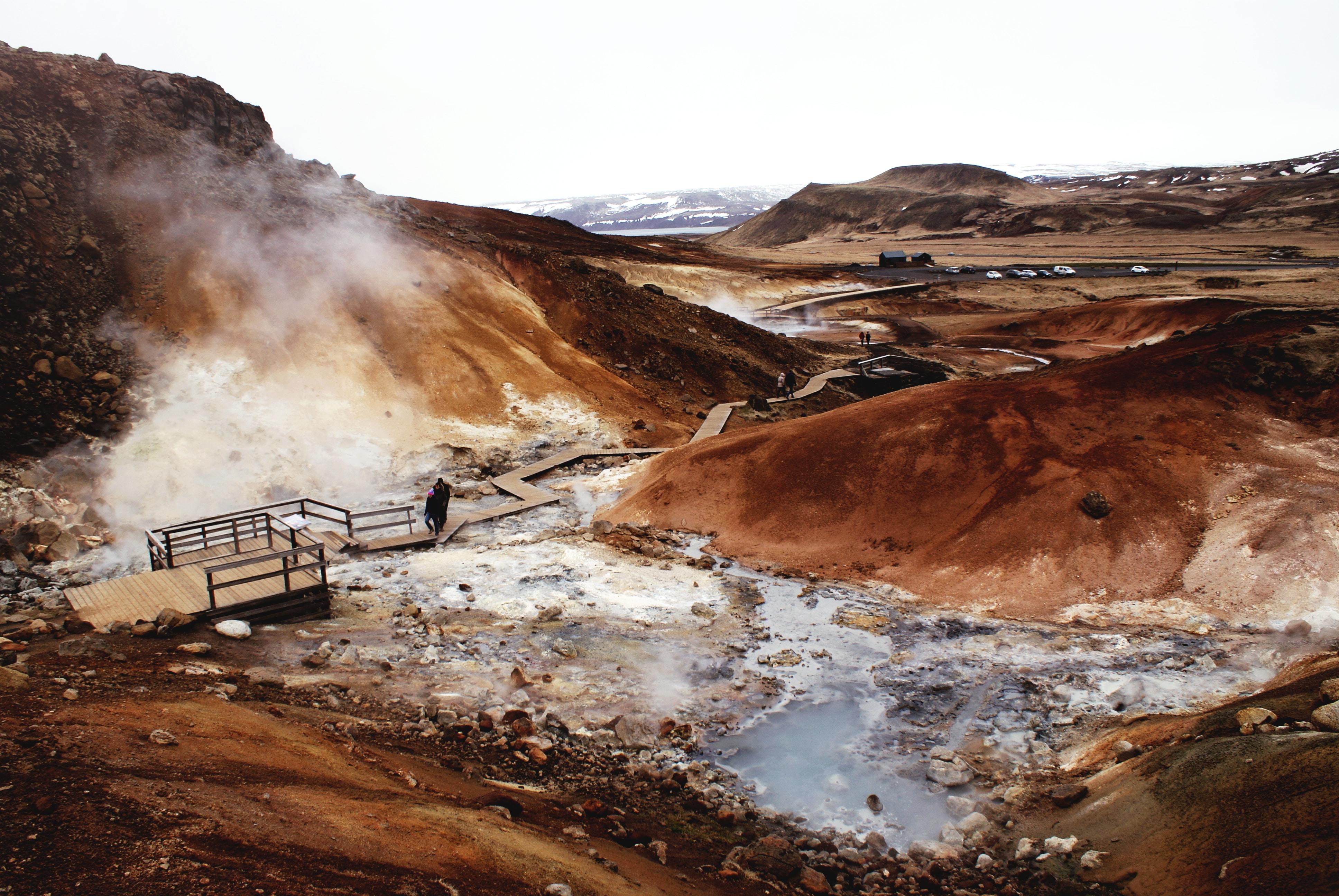 Природные горячие источники