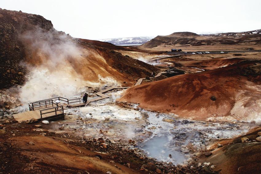 Natürliche heiße Quellen