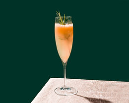 Cocktail with Rosemary