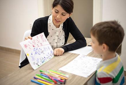 Psicóloga para niños