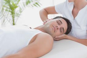 Masaje de cuello y hombros