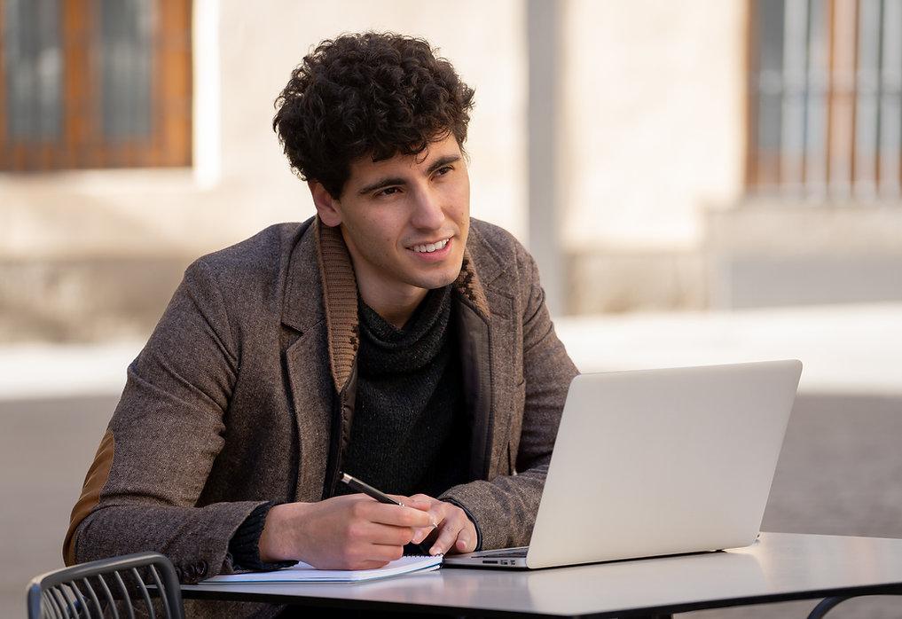 Estudiante varón
