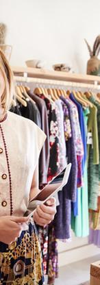 Commis de magasin de mode