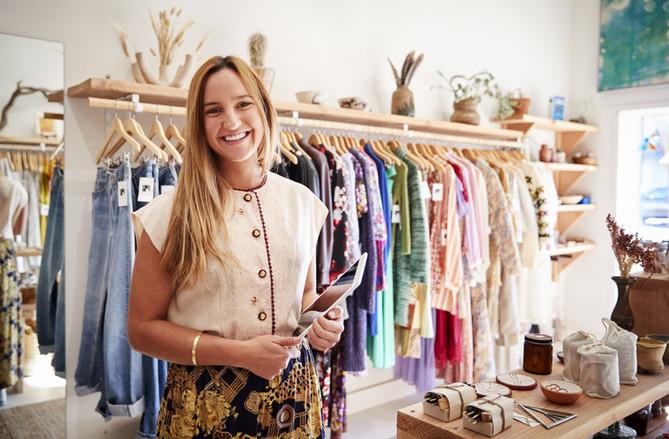 Gerente de loja de moda