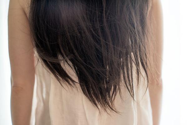 ロングヘアの女性