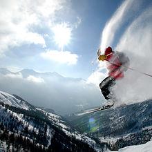 스키 타기