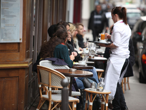 Safely converting outdoor restaurant spaces to dining areas