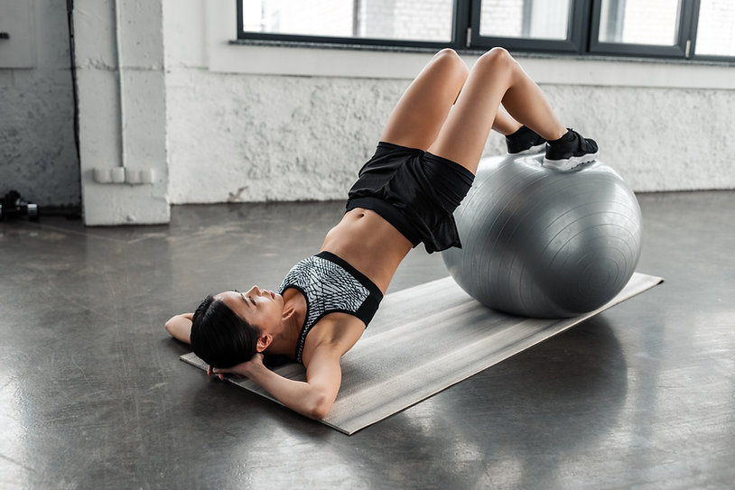 Training with Fit Ball