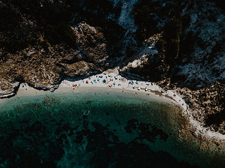 Aerial Photography of the Beach