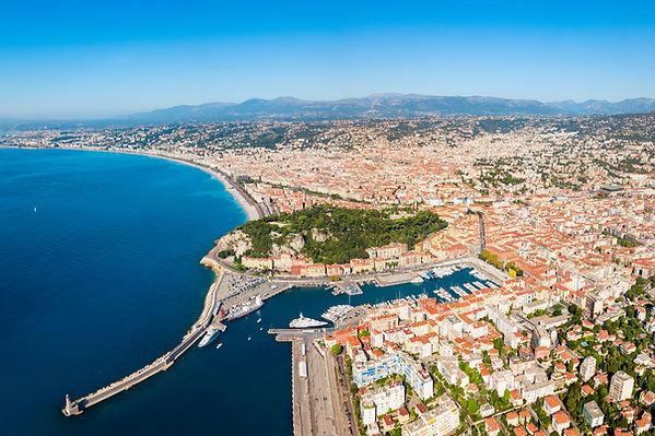 French Coastal City