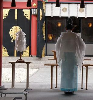 Japan Temple Ceremony