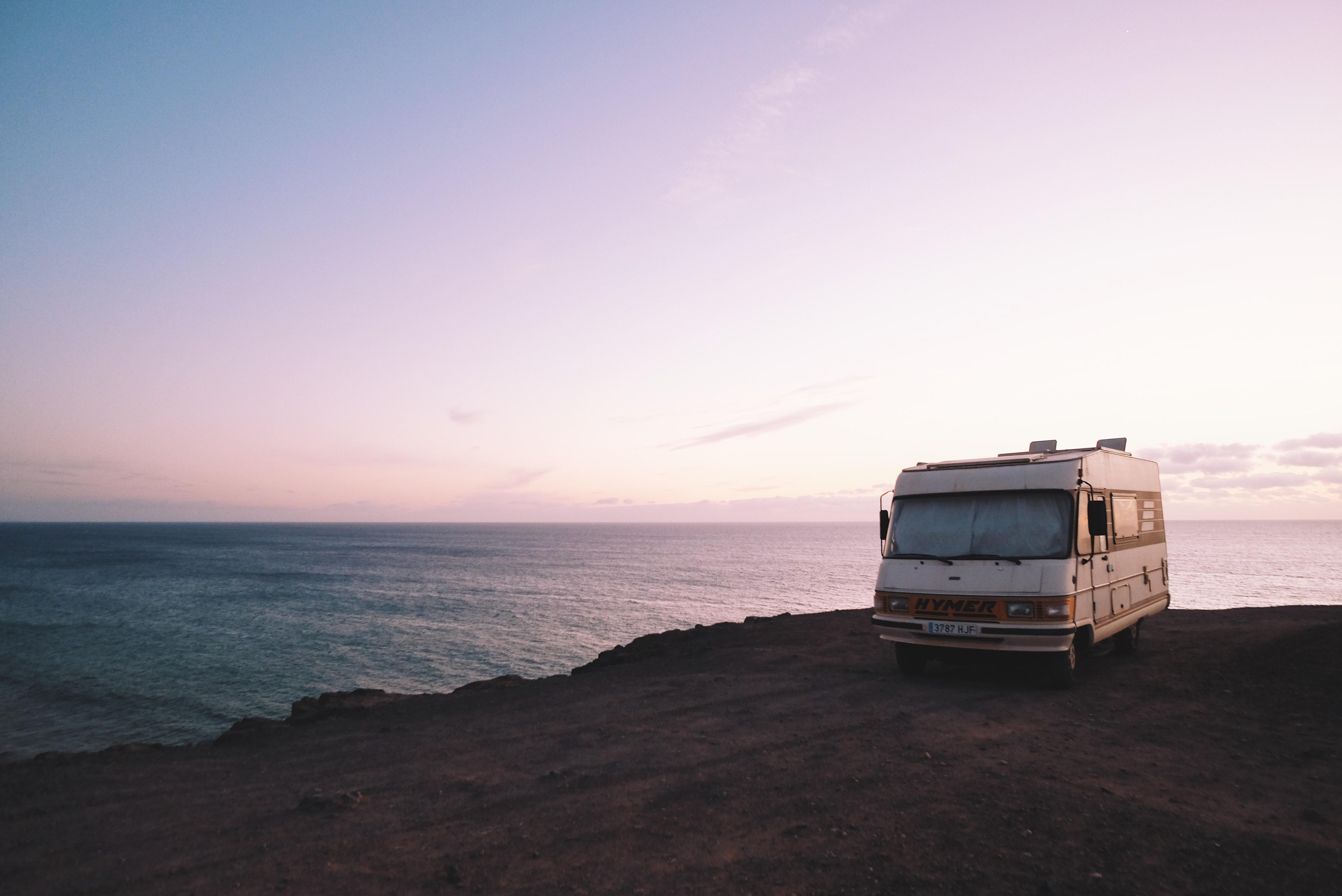 RV on Beach