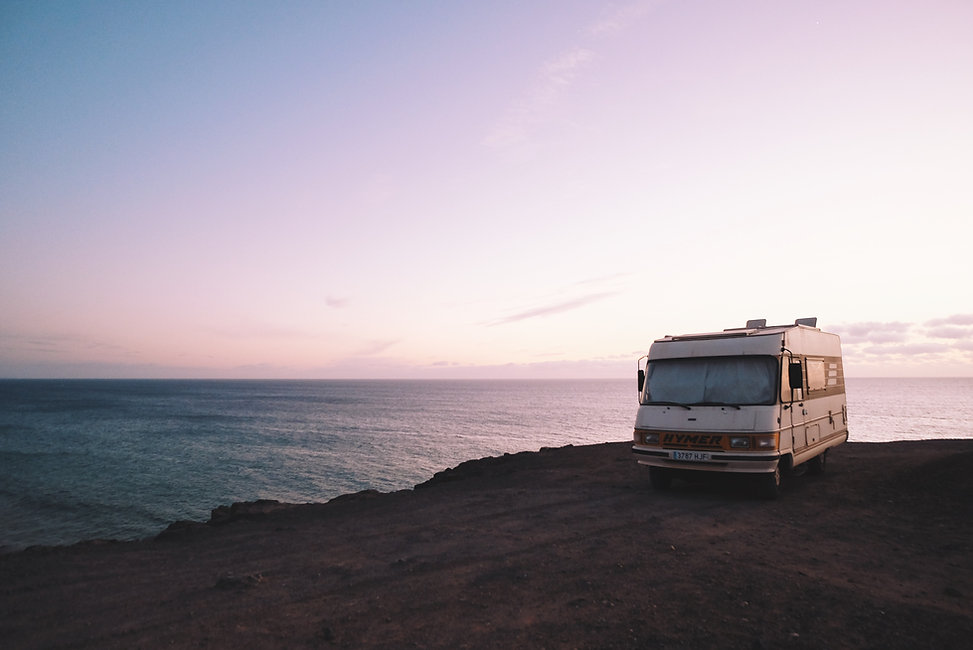 RV on Beach