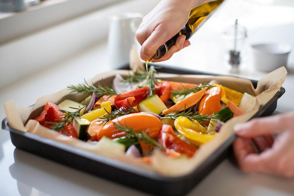 roast vegetables for healthy meal