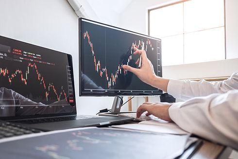 Grafik und Statistik von Effizienzanalysen: Kosten-Nutzen-Relation