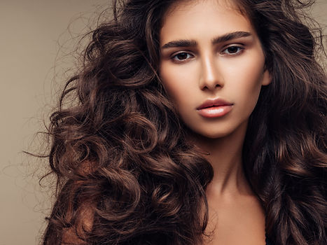 Lush Curly Hairstyle