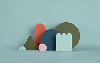 Torquoise papierstructuren