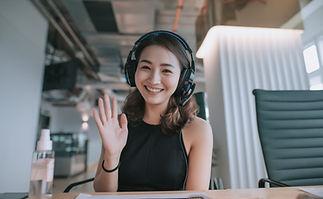 Waving in Headphones