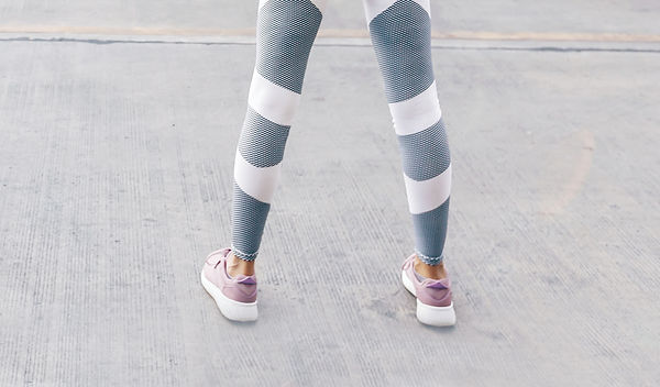 Woman with Leggings