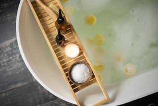Bathtub and Candle