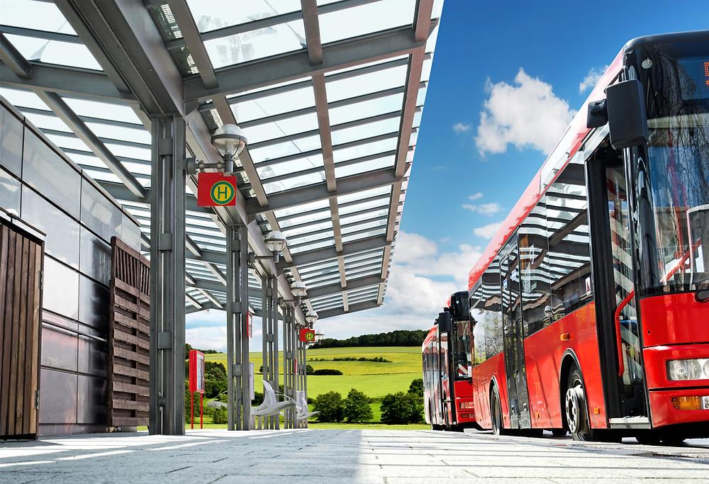 契約シャトルバスを導入でリスクマネジメント