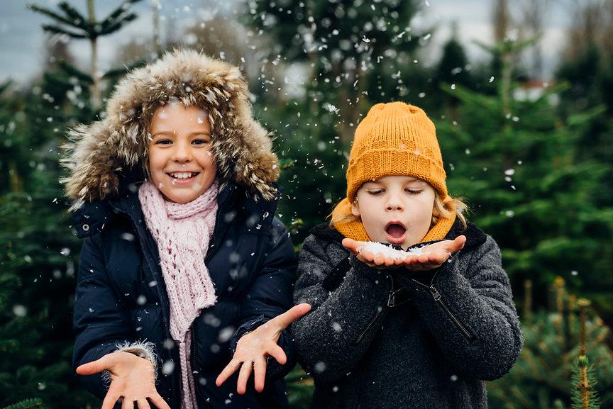 Zabawa ze śniegiem
