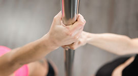 Hands on a Dancing Pole