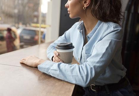 コーヒーを奪います