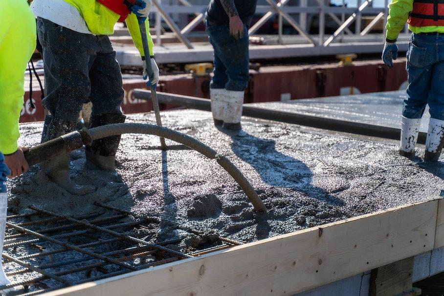 Cementing Floor