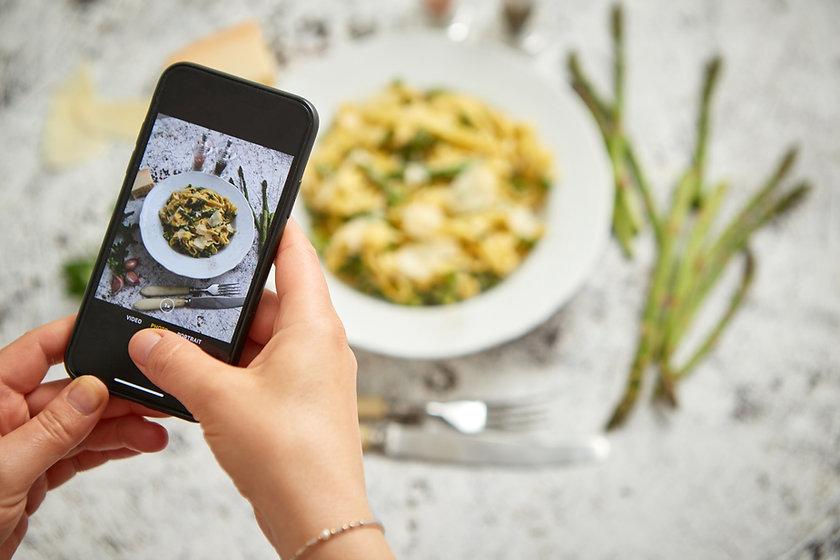 Fotografare alimenti
