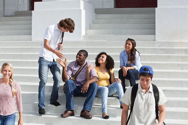 College Students on Break