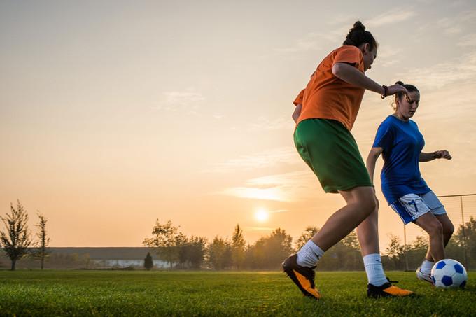 Women Football Match