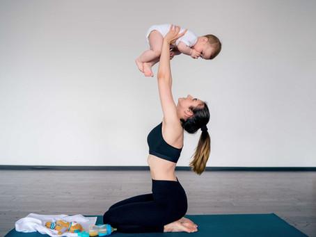 Cvičení po porodu - hypopresivní metoda