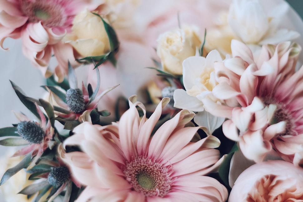 Bouquet à thème rose
