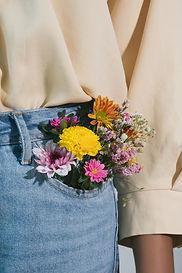 bouquet de poche - merci - Atelier Michèle Gayr