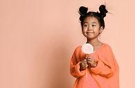 Holding a Pink Lollipop