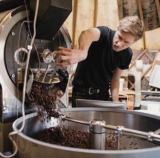 Macchina per la torrefazione del caffè