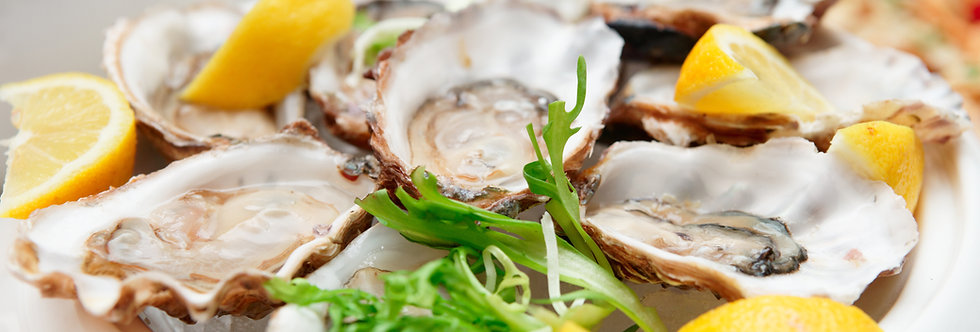 Oysters Sold by the dozen