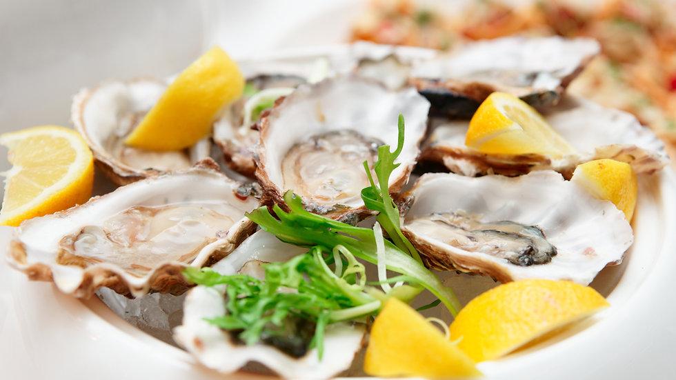 Add 5 oysters